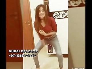 young indian girl dance in dubai