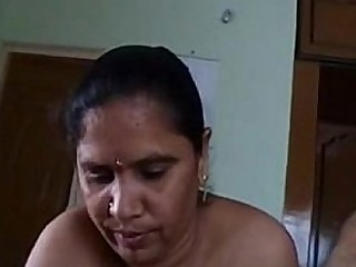 Indian telugu aunty and her friend threesome