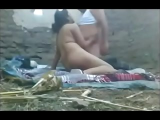 desi village aunty threesome